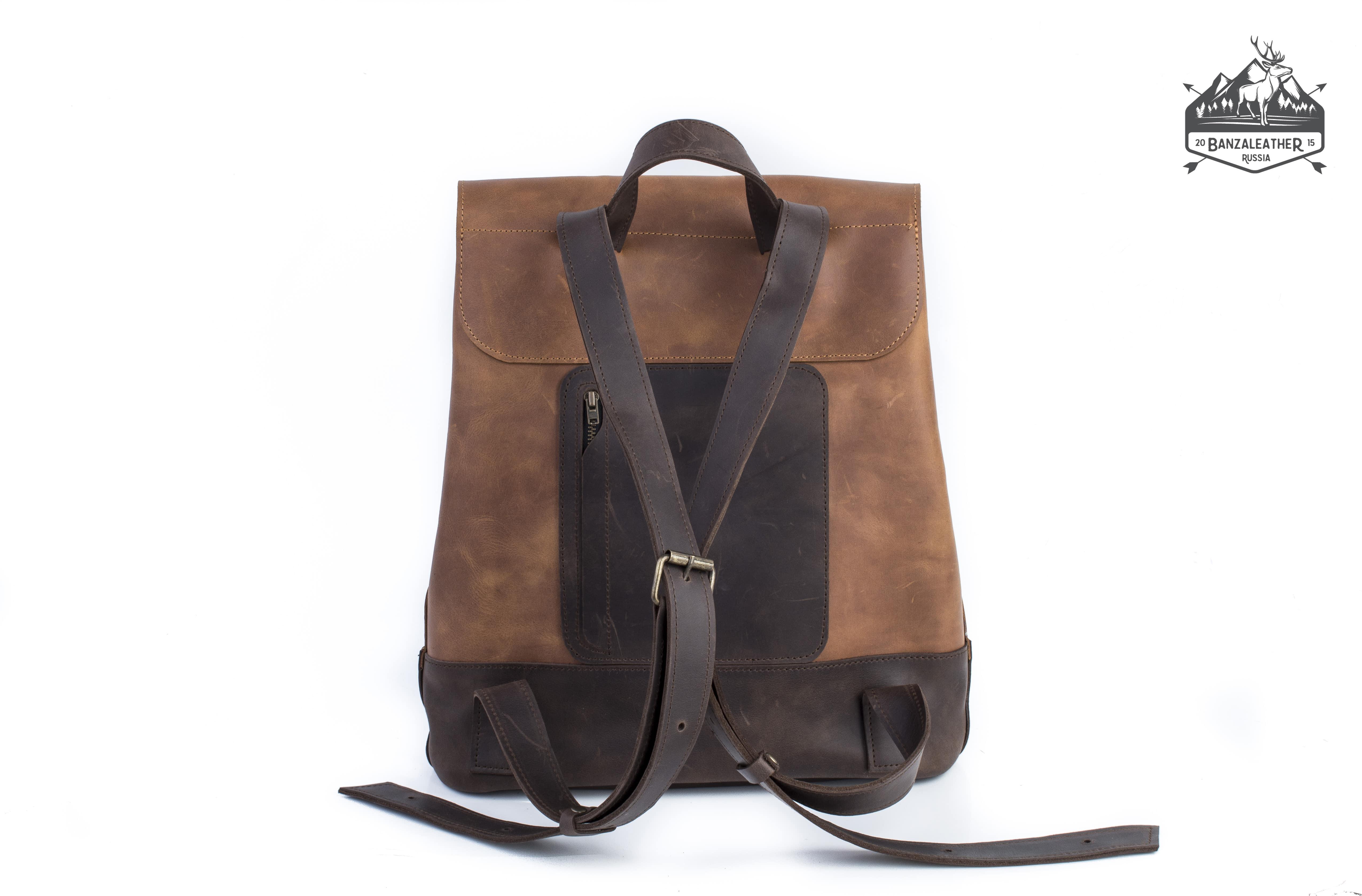 """Рюкзак коричневый """"Йонкерс"""""""