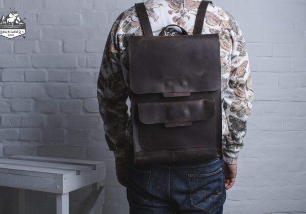 """Рюкзак коричневый """"Мидленд"""""""