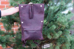 Рюкзак фиолетовый (44)