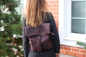 Рюкзак фиолетовый (55)