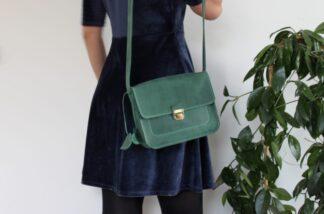 Сумка зеленая Джолит