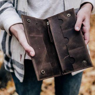 документница-лейквуд-коричневая