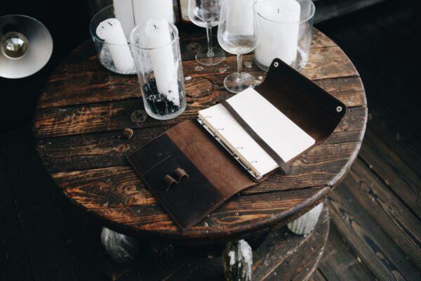 Ежедневник Джексон Шоколадно-коричневый