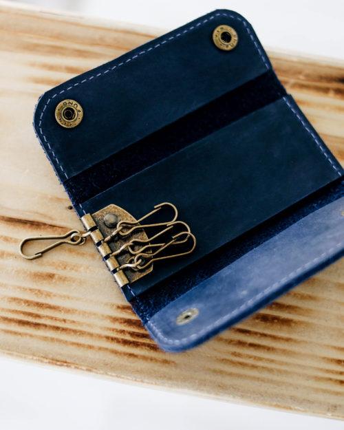 Ключница чернично-синяя Белвью