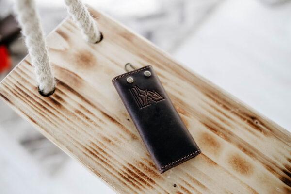 Ключница коричневая Белвью